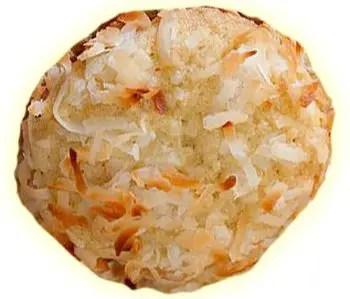 Coconut cookies - Mπισκοτάκια με ινδική καρύδα