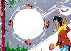 lucky luke οι Dalton στα χιόνια