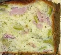 Αλμυρό κέικ με ζαμπόν και ελιές