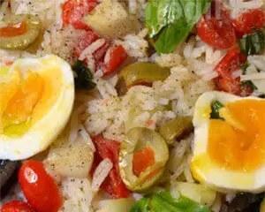 Καλοκαιρινή ρυζοσαλάτα
