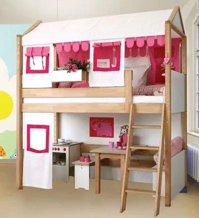 Παιχνιδόσπιτο - κρεβάτι κουκέτα Sabrina