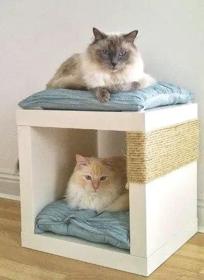 Παιχνιδόσπιτο για τις γάτες μας