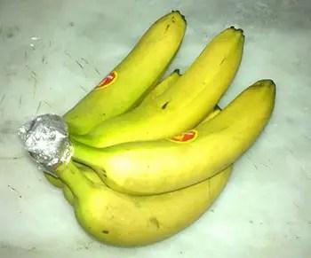 Για να μην ωριμάζουν γρήγορα οι μπανάνες