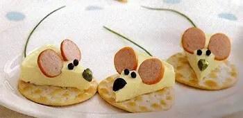 Ποντικάκια μεζεδάκια
