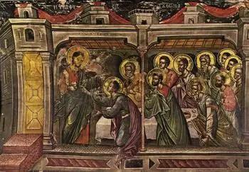 Η Ψηλάφησις του Αποστόλου Θωμά