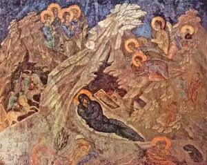 Γέννησις του Χριστού, Μυστράς