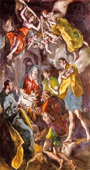 Γέννηση του Χριστού, El Greco