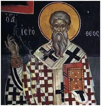 Άγιος Ιερόθεος Α' Επίσκοπος Αθηνών