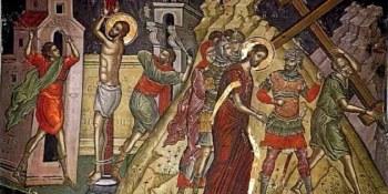 η Μαστίγωσις και Χριστός Ελκόμενος επί Σταυρού, Θεοφάνης ο Κρης