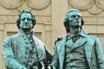 Goethe and Schiller monument, Weimar