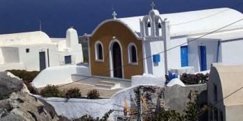 Παναγία η Μαρουλιανή (Υπαπαντή) στην Οία της Σαντορίνης