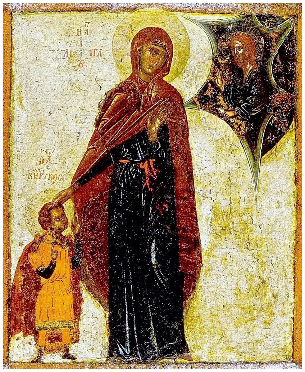 Αγία Ιουλίττα και Άγιος Κήρυκος ο υιός αυτής