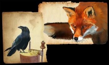 Fox, Crow