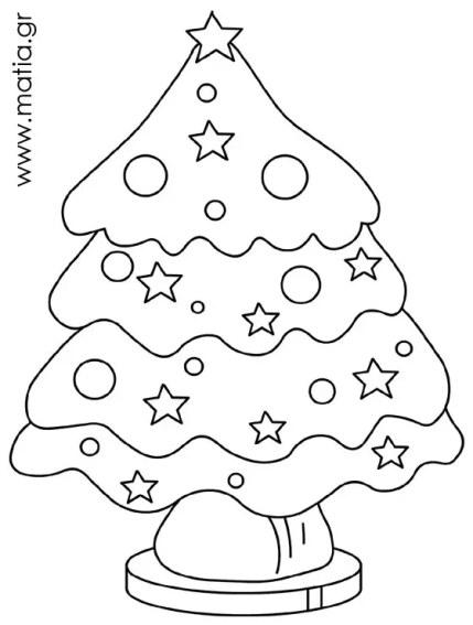 Στρουμπουλό χριστουγεννιάτικο δέντρο