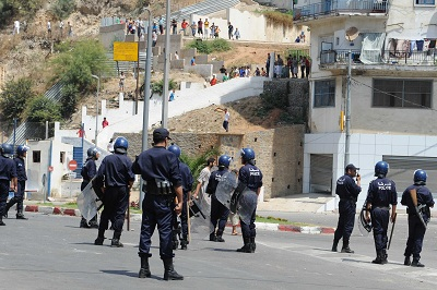 Riots in Bab El Oued (Algeria) Thursday, January 6, 2011
