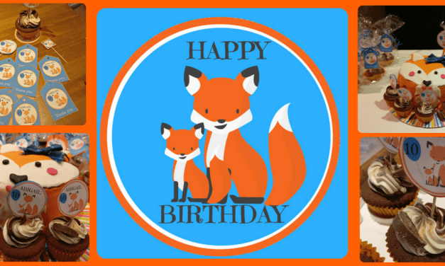 Fox Themed Birthday Party