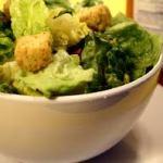 vinagrette Caesar salad