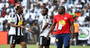 Football - 2017 CAF Confederations Cup - 1st Leg Final - TP Mazembe v Supersport United - TP Mazembe Stadium - Stade Kamalondo