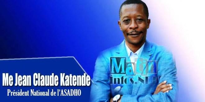 Jean Claude Katende - Président National Asadho