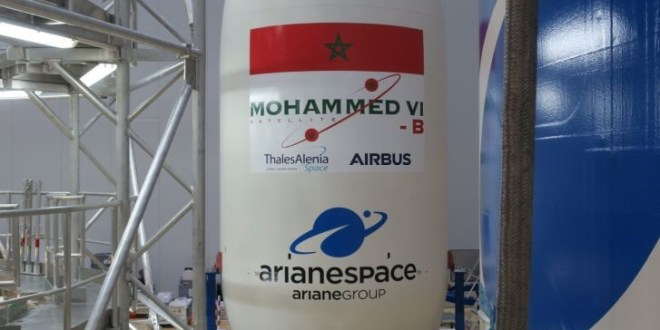 Satellite Mohammed VI-B (Ph. Tiers)