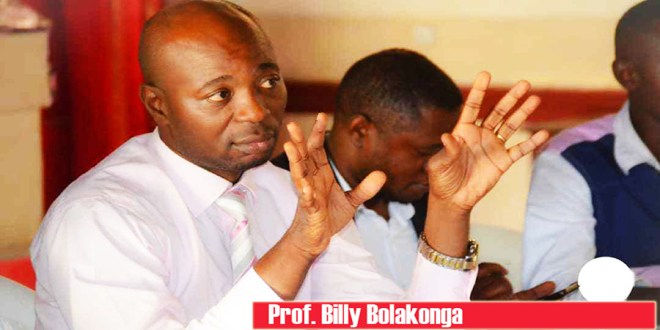 Prof Billy Bolakonga
