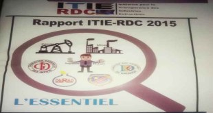 ITIE/RDC:  Le rapport 2015 révèle beaucoup de faiblesses dans la gouvernance