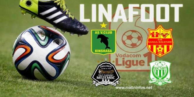 CLASSICO DE LA LINAFOOT : V.Club surclasse Sanga Balende (3-0), Mazembe pulvérise Dcmp 4-1