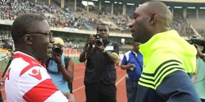 Otis Ngoma et Florent Ibenge