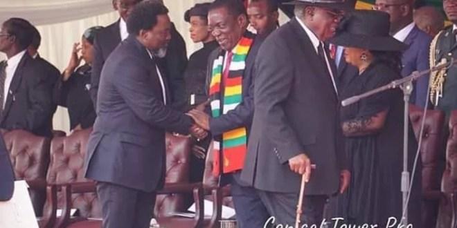 RDC : Joseph Kabila à Harare au Zimbabwe pour les obsèques de Robert Mugabé