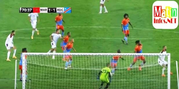 La RDC et le Maroc se renvoient dos à dos après le match amical FIFA