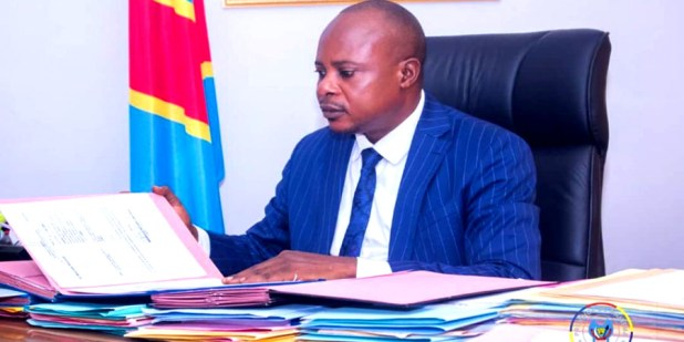 Amadi Lubenga Gouverneur a.i Maniema