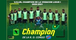 L' AS V.Club de Kinshasa marche sur la plus haute marche du podium en cette 26è édition de la Linafoot, après avoir obtenu gain de cause dans le bureau
