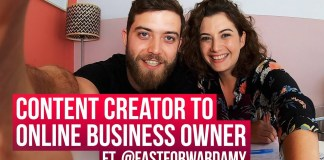 Content creator to online business owner