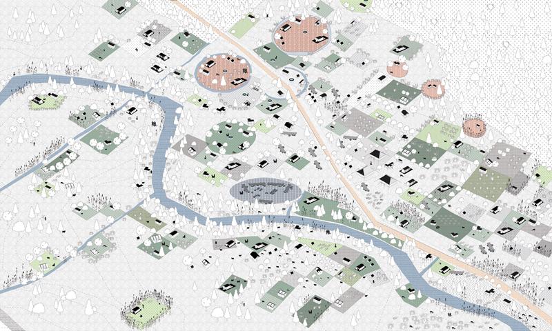 """贝尔拉格建筑学院,""""无政府城市""""(Anarcity)——最初阶段,2011"""