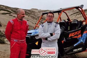 Lucas, o 1º co-piloto Down a correr no Rali Dakar 84