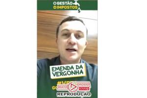 """Xuxu DalMolin sugere que seus pares aprovaram """"Pacote da Maldade"""" para Mendes em troca de 35 milhões a mais para Assembleia 81"""