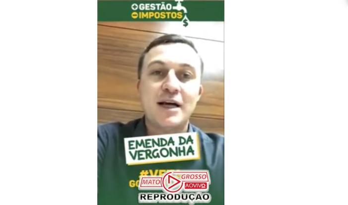 """Xuxu DalMolin sugere que seus pares aprovaram """"Pacote da Maldade"""" para Mendes em troca de 35 milhões a mais para Assembleia 65"""