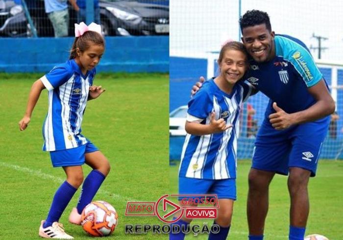 Natália Pereira e Betão do Avaí - Foto: André Palma Ribeiro/Avaí F.C.