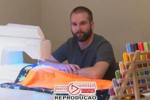Médico faz mantas para recém-nascidos: aconchego após o parto 79