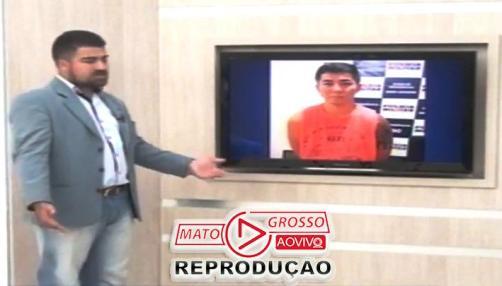 Após sair da prisão, ex-policial militar dá entrevista a emissora de TV para contar a sua versão dos fatos.