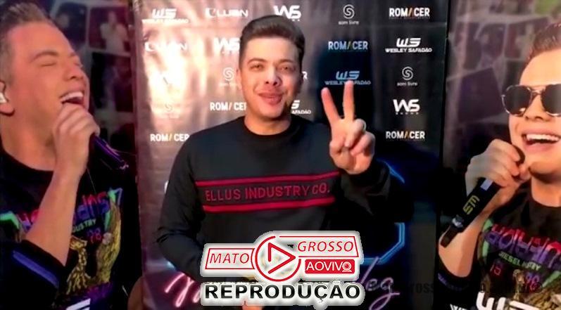 Wesley Safadão confirma presença de show na 1ª Expo Alta Floresta em vídeo gravado aos fãs 65