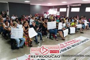Professores de Alta Floresta lotam a Câmara Municipal para pedir apoio para não perderem as conquistas da categoria 59