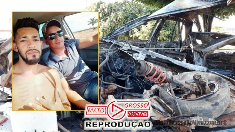 Mortos em acidente da MT 208 são identificados e estavam em Paranaíta executando serviço de decoração 65