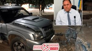 Vereador de Apiacás supostamente embriagado é preso por atropelar duas pessoas, bater em ônibus e pilha de bloquetes 121