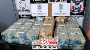 Investigações apontam que 4,6 milhões apreendidos pela Polícia Civil de Alta Floresta seriam para compra de ouro ilegal 137
