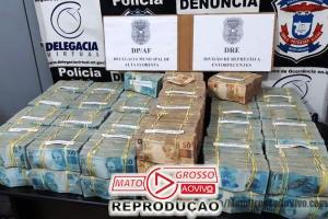 Investigações apontam que 4,6 milhões apreendidos pela Polícia Civil de Alta Floresta seriam para compra de ouro ilegal 75
