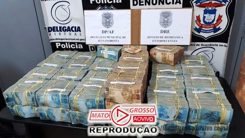 Polícia de Alta Floresta vai atender ocorrência de queda de avião e encontra 4.7 milhões em dinheiro nas malas do piloto 65