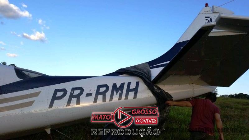 Polícia de Alta Floresta vai atender ocorrência de queda de avião e encontra 4.7 milhões em dinheiro nas malas do piloto 67