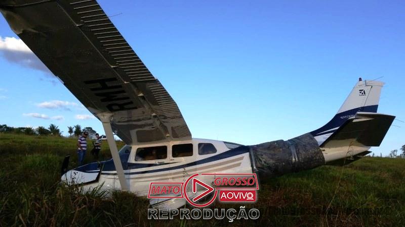 Polícia de Alta Floresta vai atender ocorrência de queda de avião e encontra 4.7 milhões em dinheiro nas malas do piloto 66