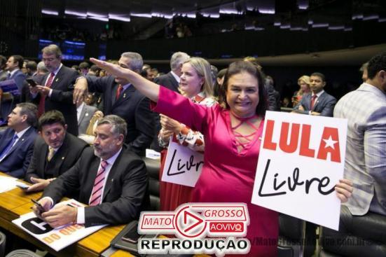 A deputada foi flagrada recentemente em saudação nazista no Congresso Nacional